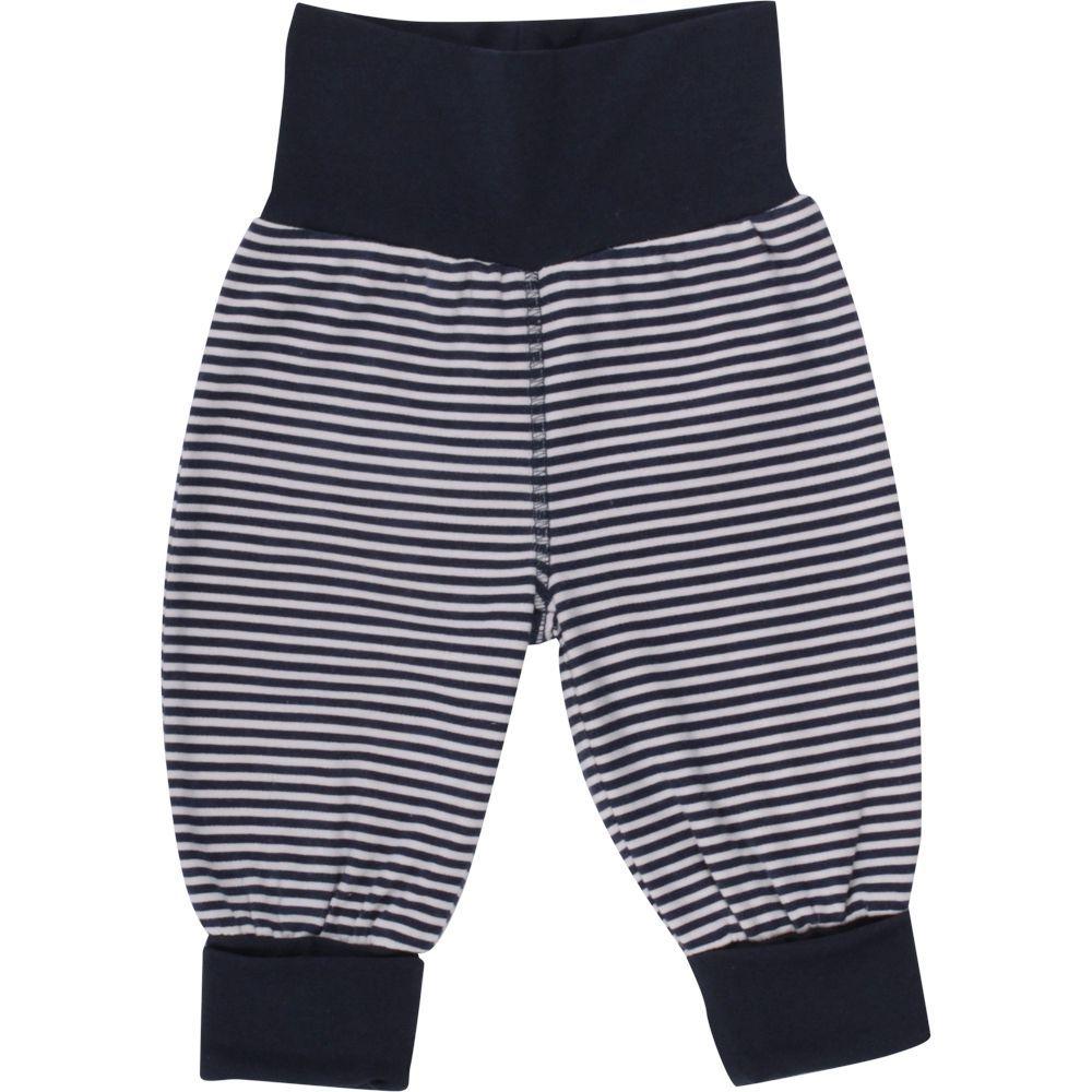 Billede af Baggy pants fra Müsli - Navy Stripe (GOTS)