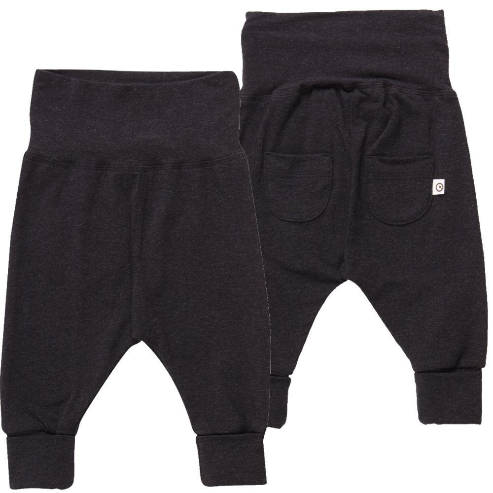 Billede af Bukser fra Müsli - Cozy Me Pocket Pants - Dark grey melange