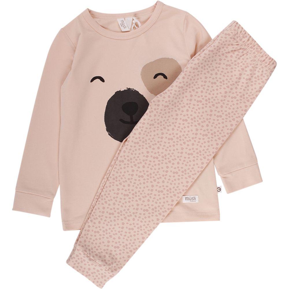 Image of   Pyjamas fra Müsli - Bear - Powder