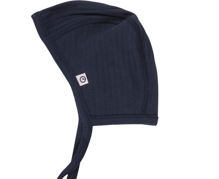 Image of Cozy Rib hjelm fra Müsli - Navy (GOTS) (1573010000-019392301)