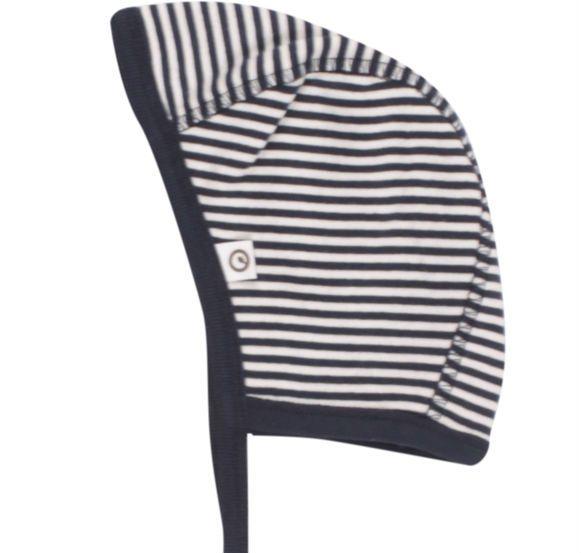 Image of Hjelm fra Müsli - Navy Stripe (GOTS) (1573014200-019392301)