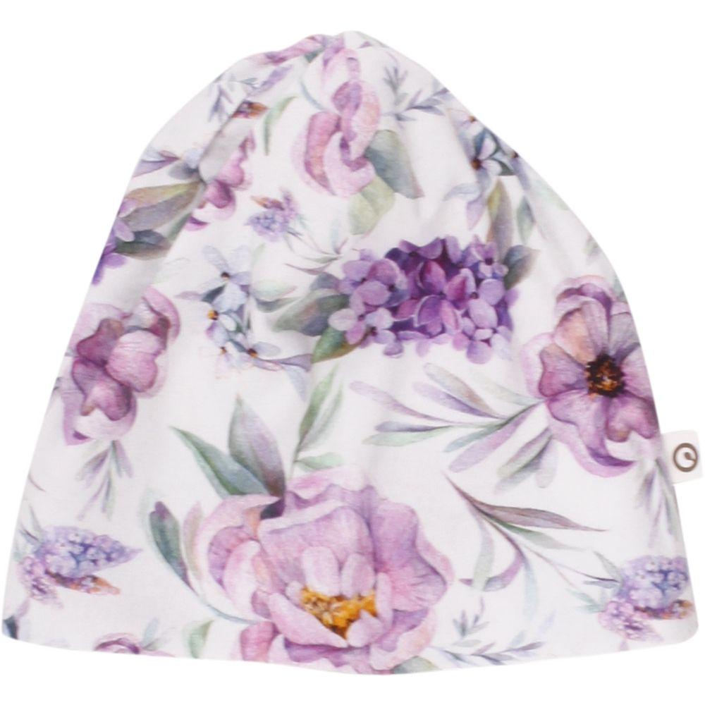 Image of Beanie fra Müsli - Flowers (GOTS) (1573020600_015270601)