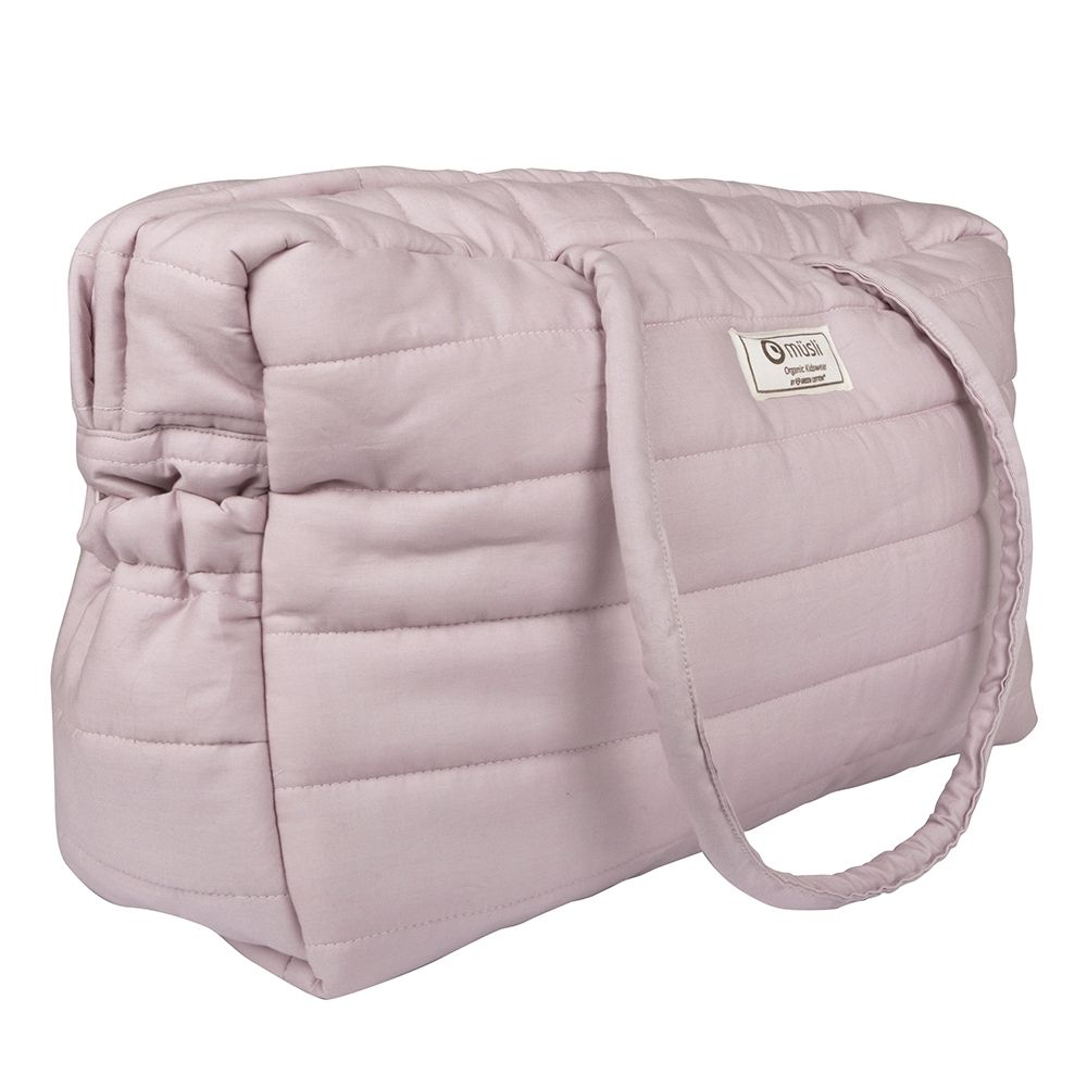 Mommy bag fra Müsli - Quilted - Rose (GOTS)
