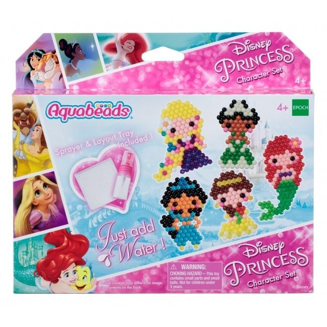 Perler fra AquaBeads - Figursæt - Disney Princess