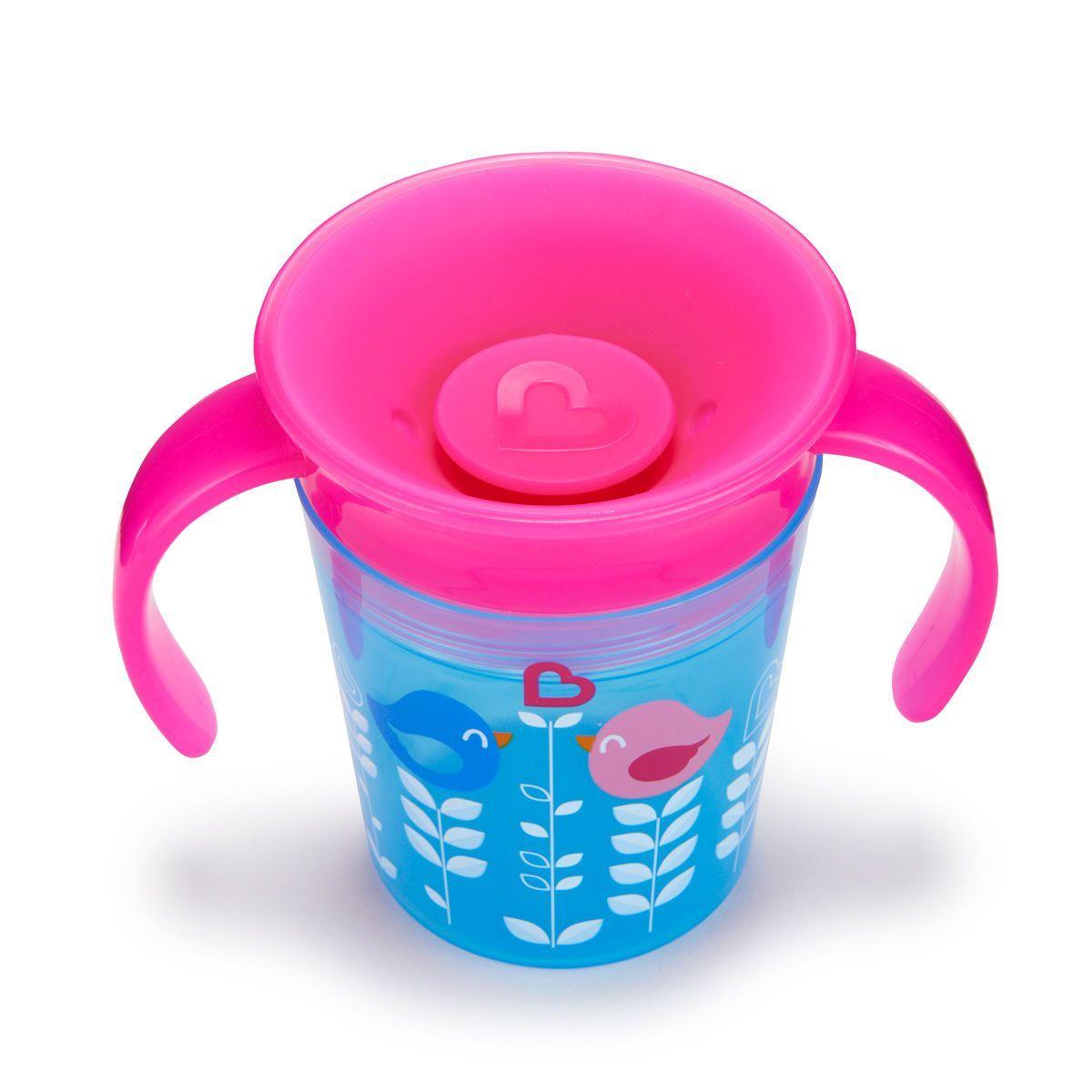 Image of   Drikketræner fra Munchkin - Spildfri - Miracle 360Trainer Cup - Blue Birdy