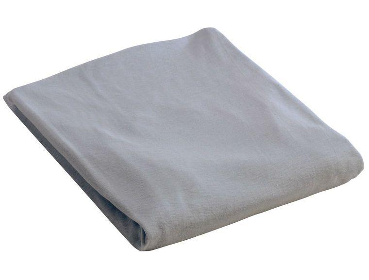 Stræklagen til seng fra BabyDan - Lys grå (Öko-tex)