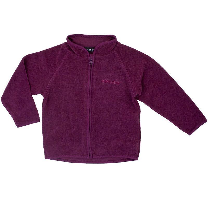 Image of   Fleece trøje fra Minymo - Dark Purple