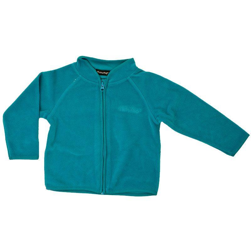 Billede af Fleece trøje fra Minymo - Petrolium