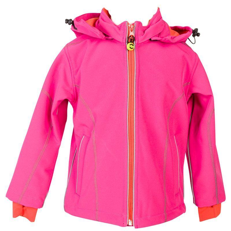 Billede af Softshell jakke fra Mikk-Line - Vind- og Vandtæt - Pink