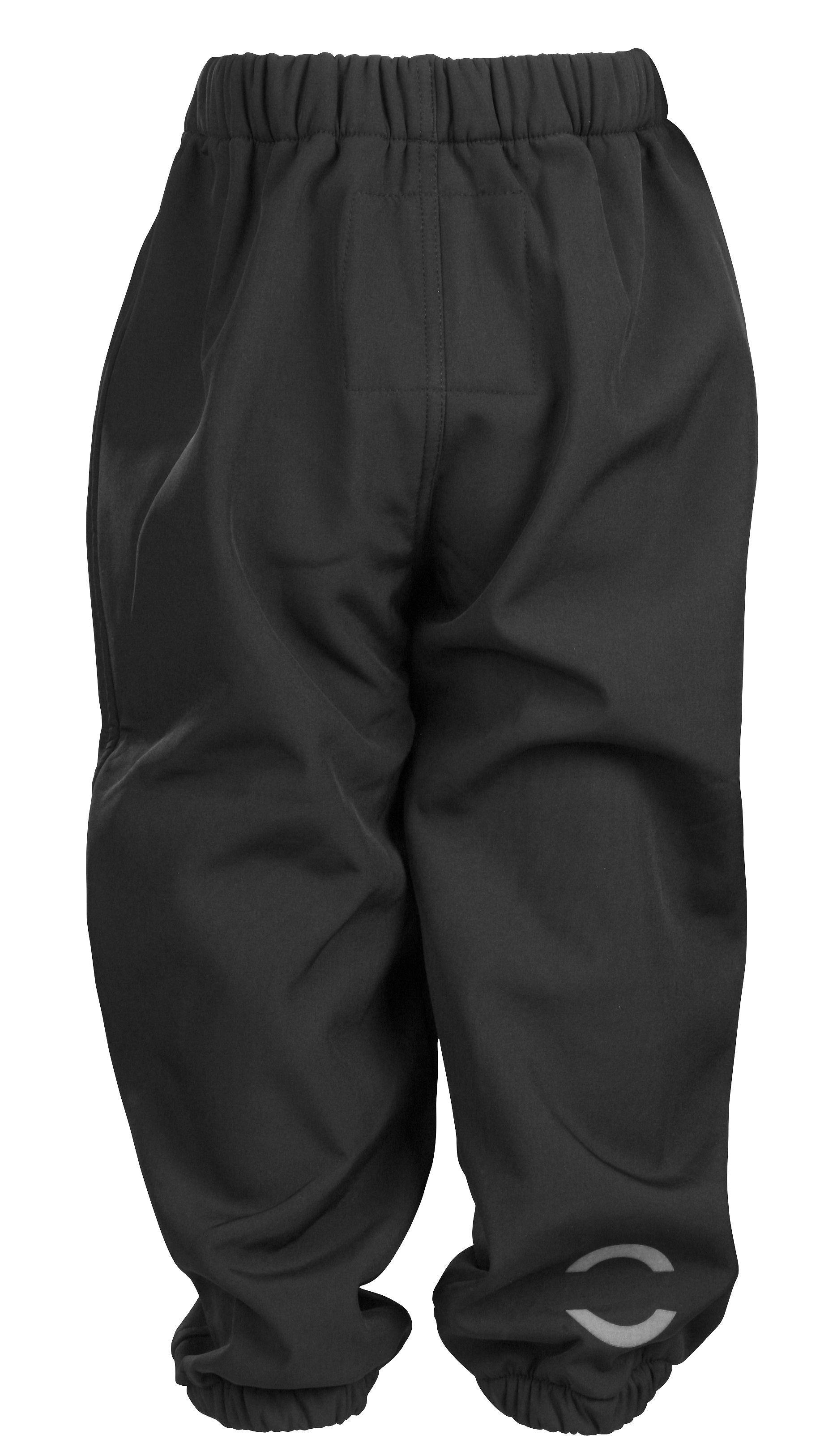 92de2d64 Softshell bukser fra Mikk-Line i Sort - Fri Fragt - Køb Soft shell Bukser  Vindtætte og Vandtætte