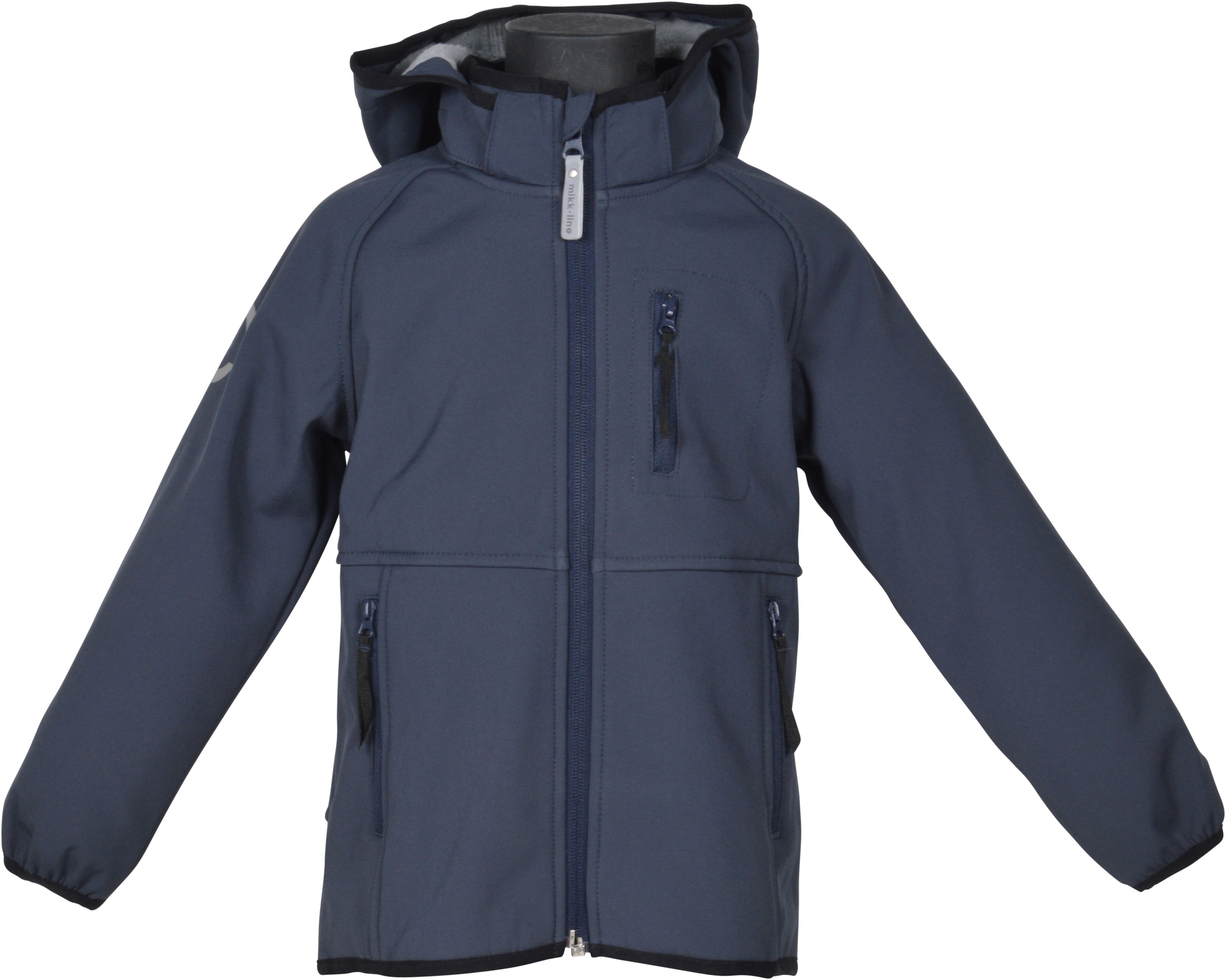Image of Drengejakke i softshell fra Mikk-Line - Blue Nights (16120-287)