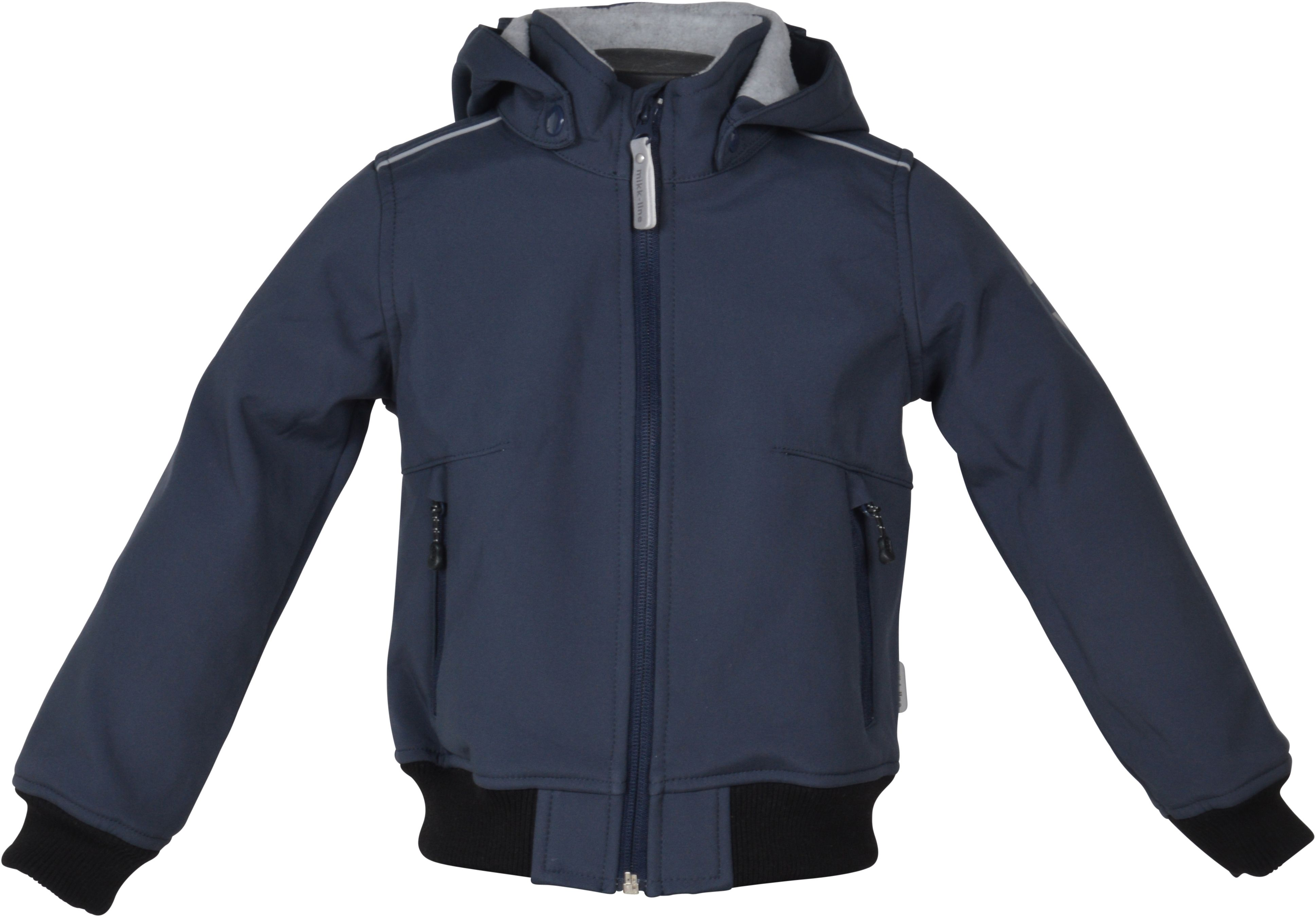 Image of Softshell jakke fra Mikk-Line - Bomber Jacket - Blue Nights (16122-287)