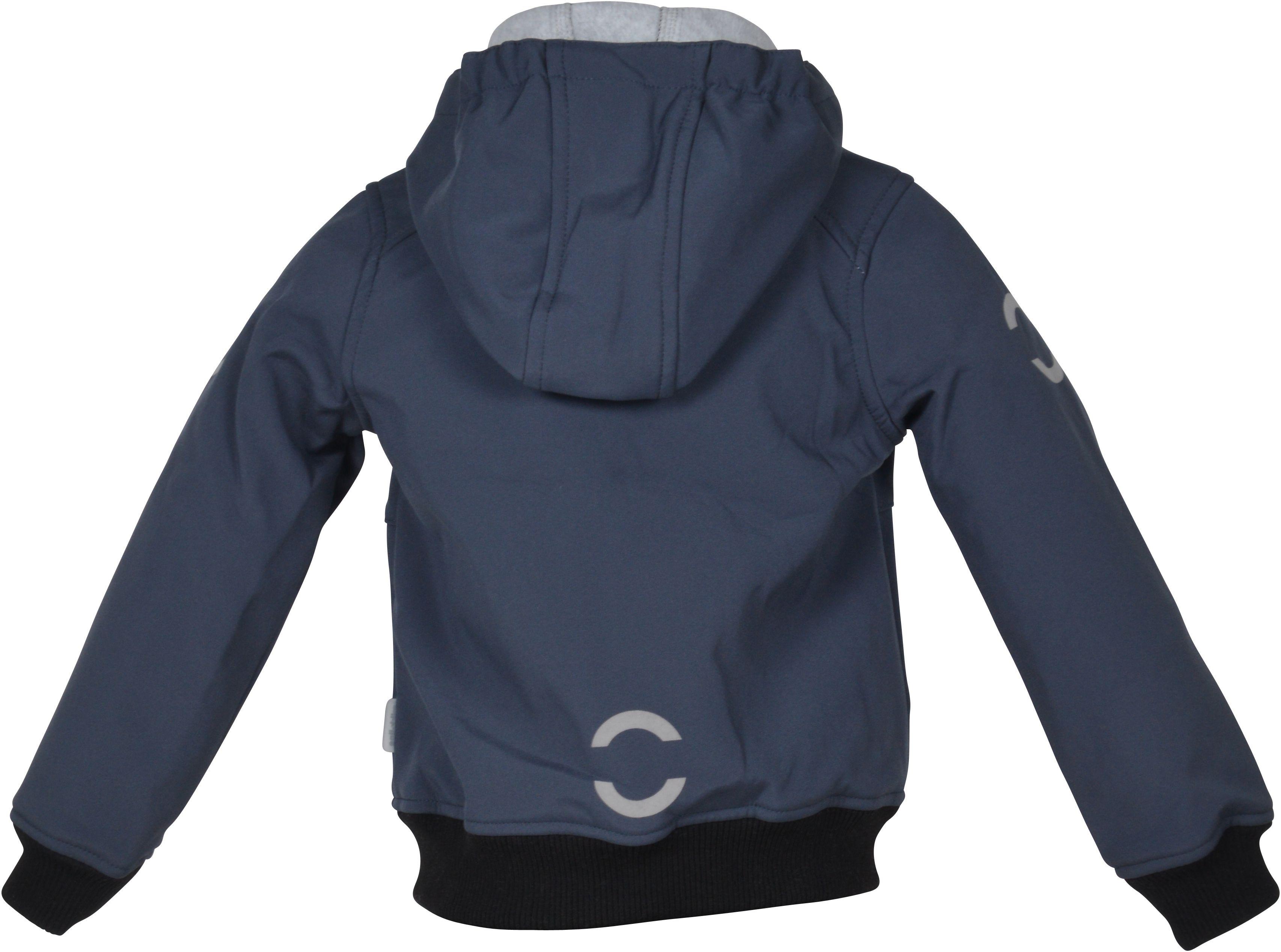6c0bf94abee Softshell jakke fra Mikk-Line - Bomber Jacket - Blue Nights - FRI Fragt -  Køb praktisk softshell jakke fra Mikk-Line