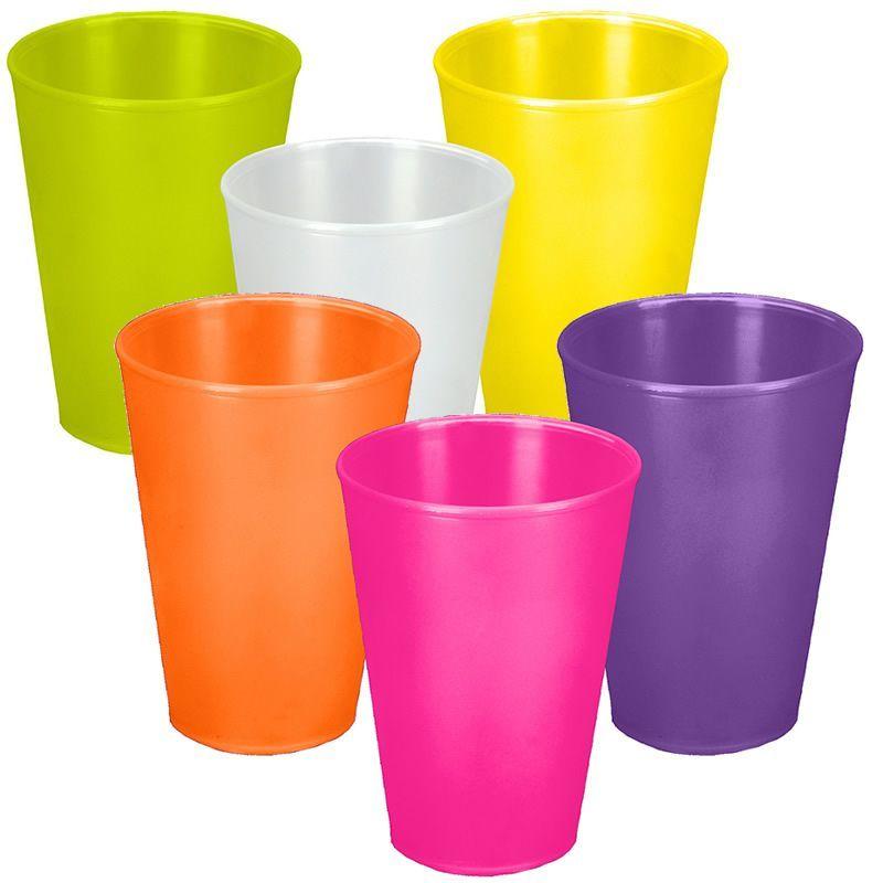 Billede af Plast krus - Hawaii Cup (400ml)