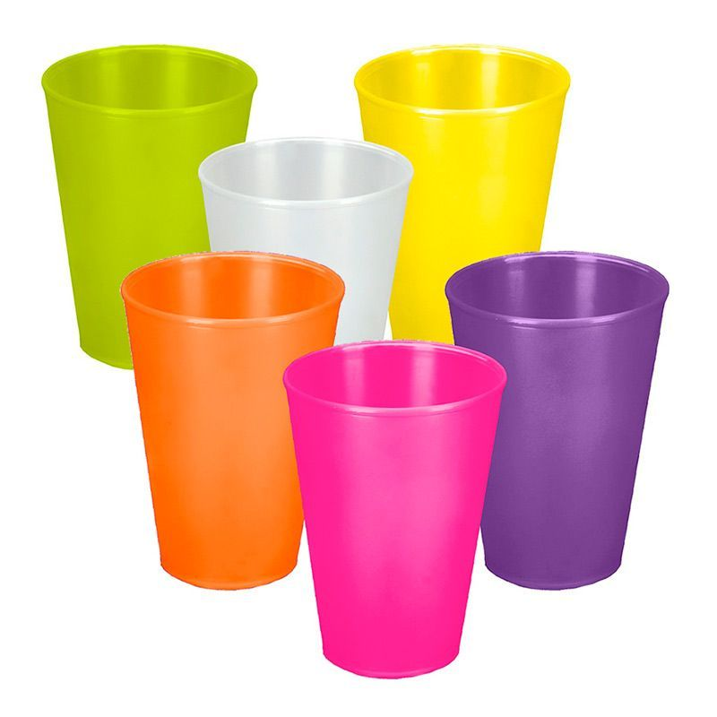 Billede af Plast krus - Hawaii Cup (250ml)