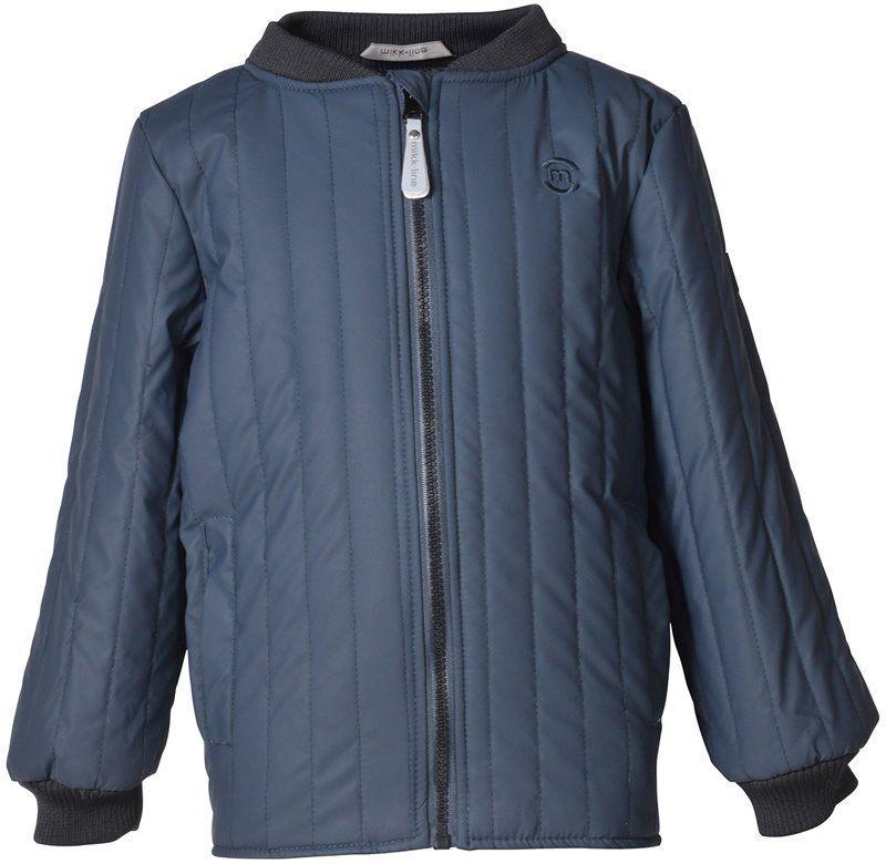 Image of   Soft duvet thermo jakke fra Mikk-Line - Midnight Blue