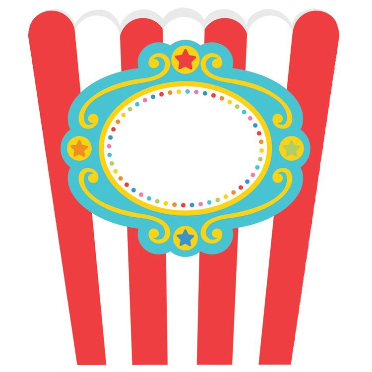 Image of Treat boxes - Fisher-Price Circus (8 stk) (998570)