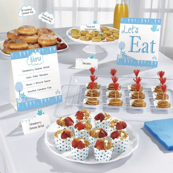 Image of Buffet Kit - Lets Eat - Blå (12 dele) (9901899)
