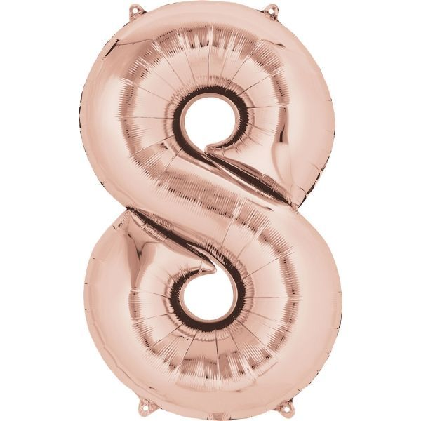 Ballon - Folie - SuperShape - Rose Gold - 53x83m - 8