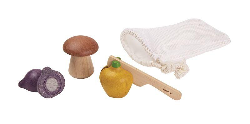 Image of   Grøntsagssæt fra Plantoys - Bæredygtigt legetøj