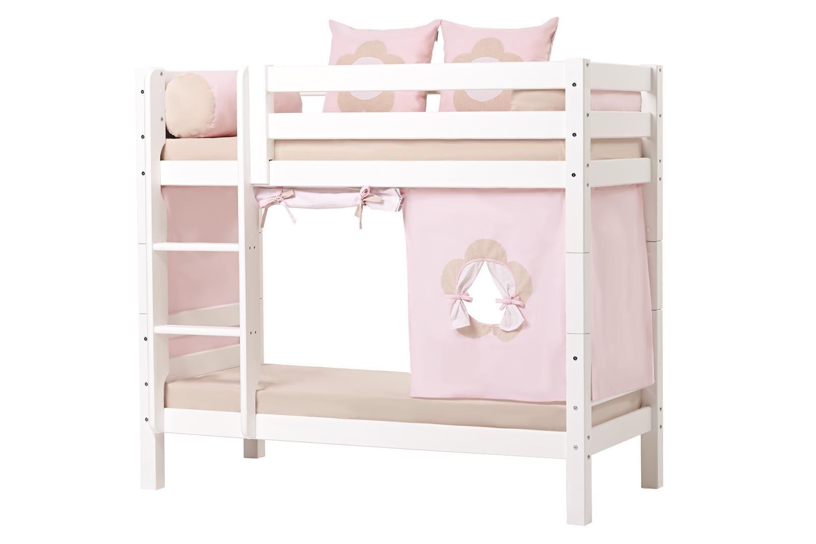 Billede af Forhæng til Halvhøj seng og Køjeseng fra Hoppekids - Fairytale Flower