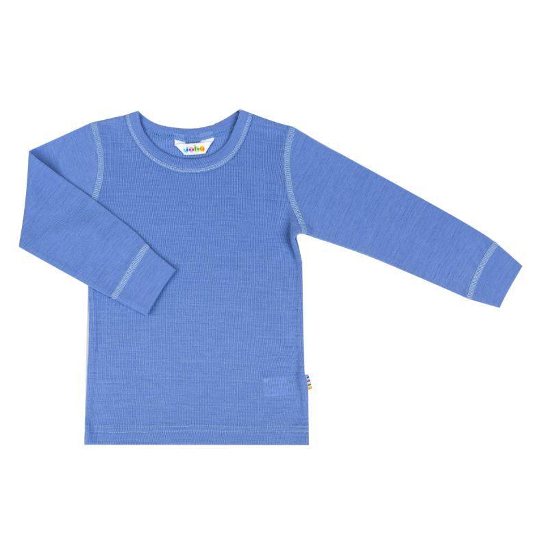 Image of   Trøje i sommer uld fra Joha - Colony Blue