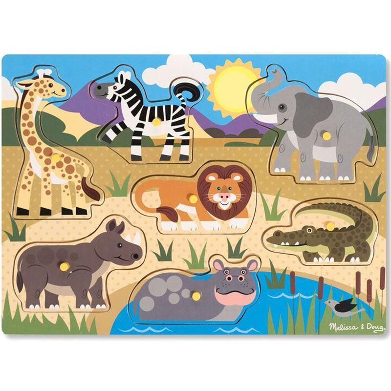 Billede af Puslespil fra Melissa & Doug - Safari