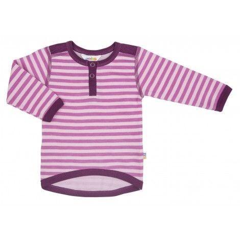 Image of   Trøje i uld / bomuld fra Joha - Wolly - Pink/lyserød