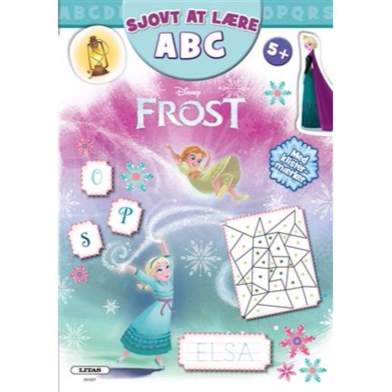 Image of   Aktivitetsbog - Frost ABC - Sjovt at lære