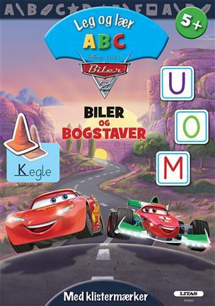 Image of   Aktivitetsbog m. klistermærker - ABC - Lynets Bogstaver (5+)