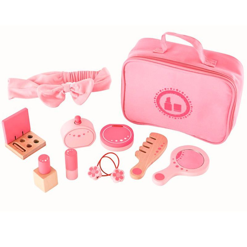 Image of   Beautybox fra Hape - Beauty Belongings (11 dele)