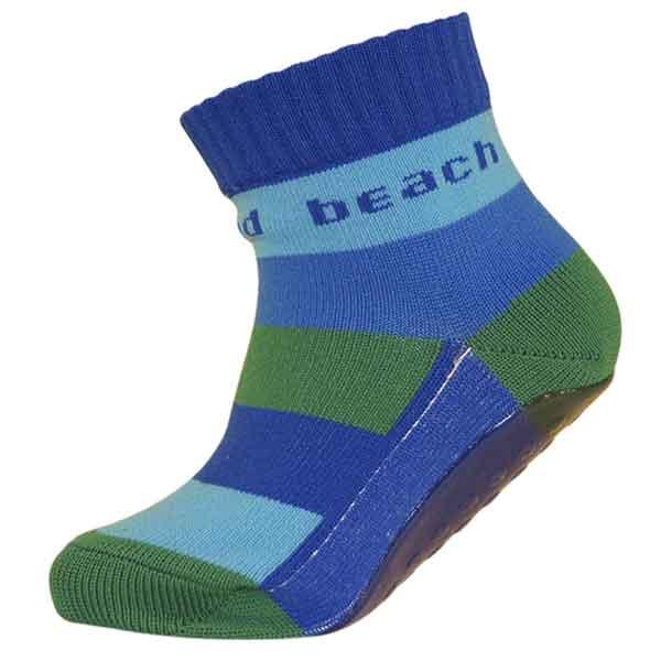 Melton Beach socks fra melton m. abs og thermolite - blå fra babygear.dk