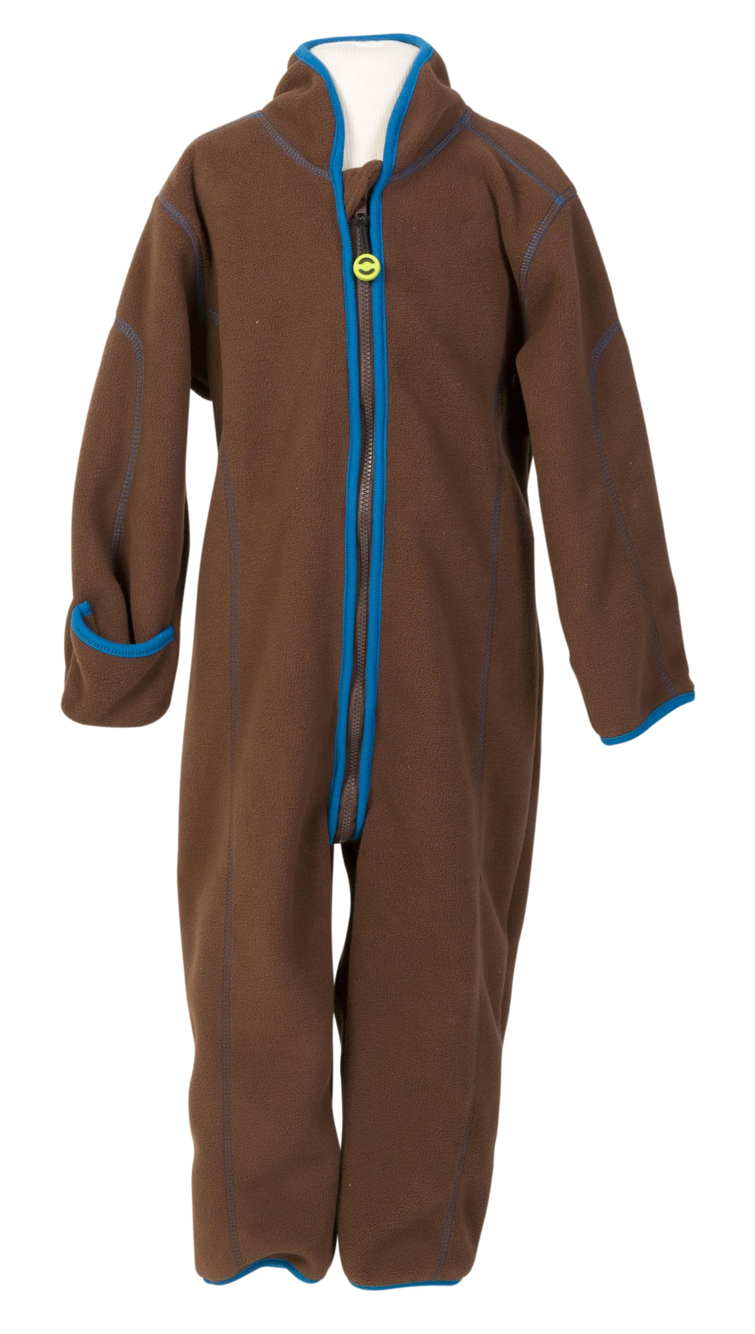 Image of Double fleece dragt fra Mikk-Line - Chestnut (2102-475)