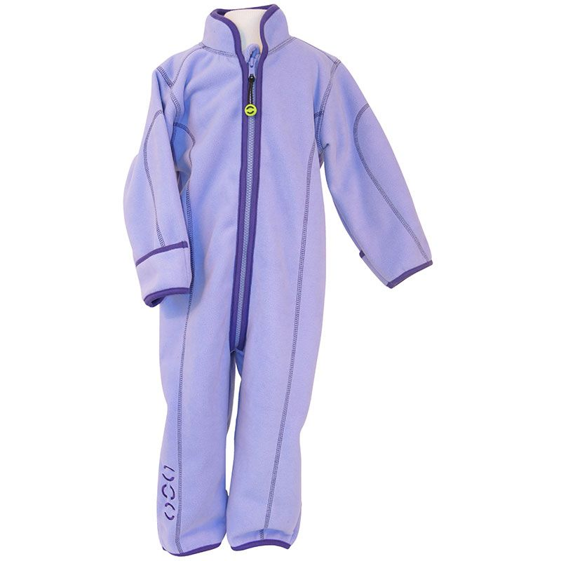 Image of   Fleece dragt fra Mikk-Line - m.ombuk - Lavendel
