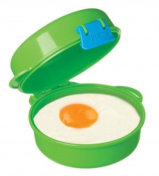 Sistema – Microwave easy eggs fra sistema - lime fra babygear.dk