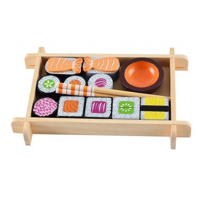 Image of   Legemad fra Magni - Sushi sæt i træ