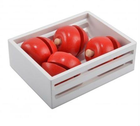 Image of   Legemad fra Magni - Velcro æbler i kasse