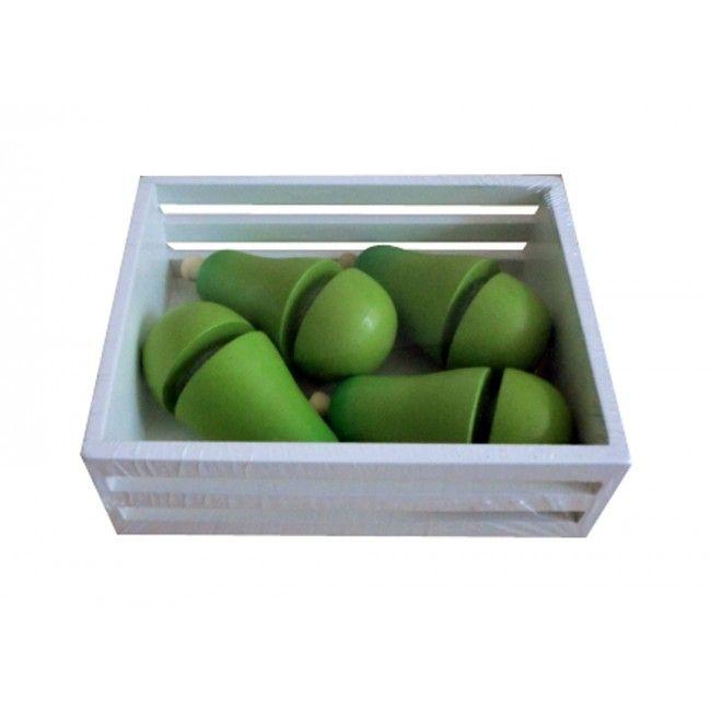 Image of   Legemad fra Magni - Velcro pærer i kasse