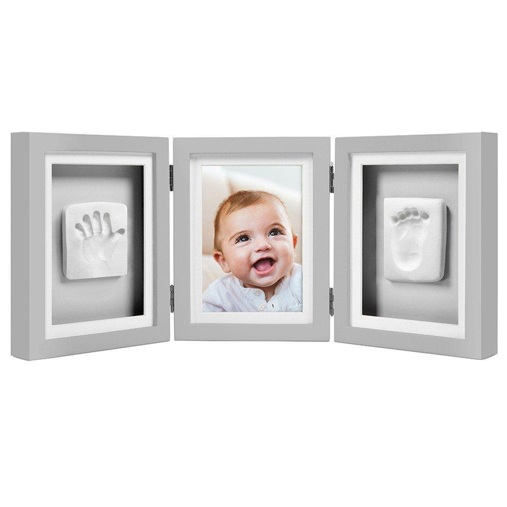 Image of Billedramme fra Pearhead - Babyprints Deluxe Desk Frame - Grå (109100)