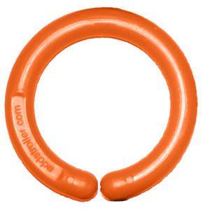 Image of Ophængningsring til klæde og legetøj - Orange (1 stk) (106618)