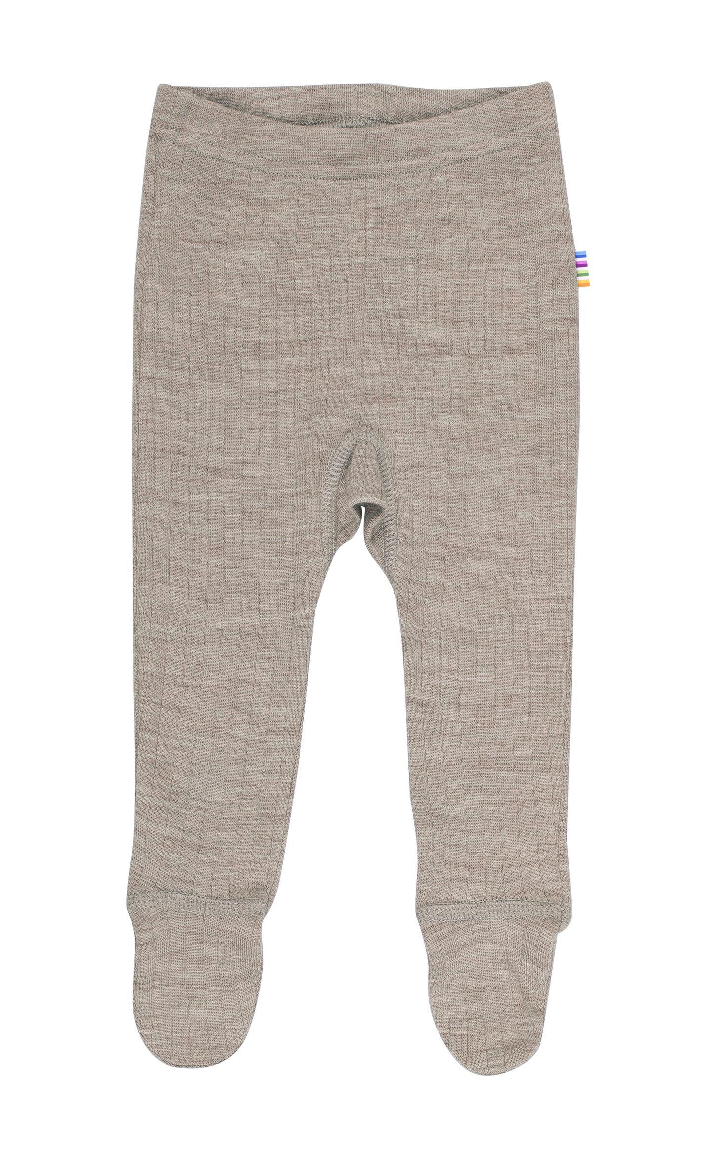Image of   Leggings m. fod fra Joha i uld i Sesame Melange