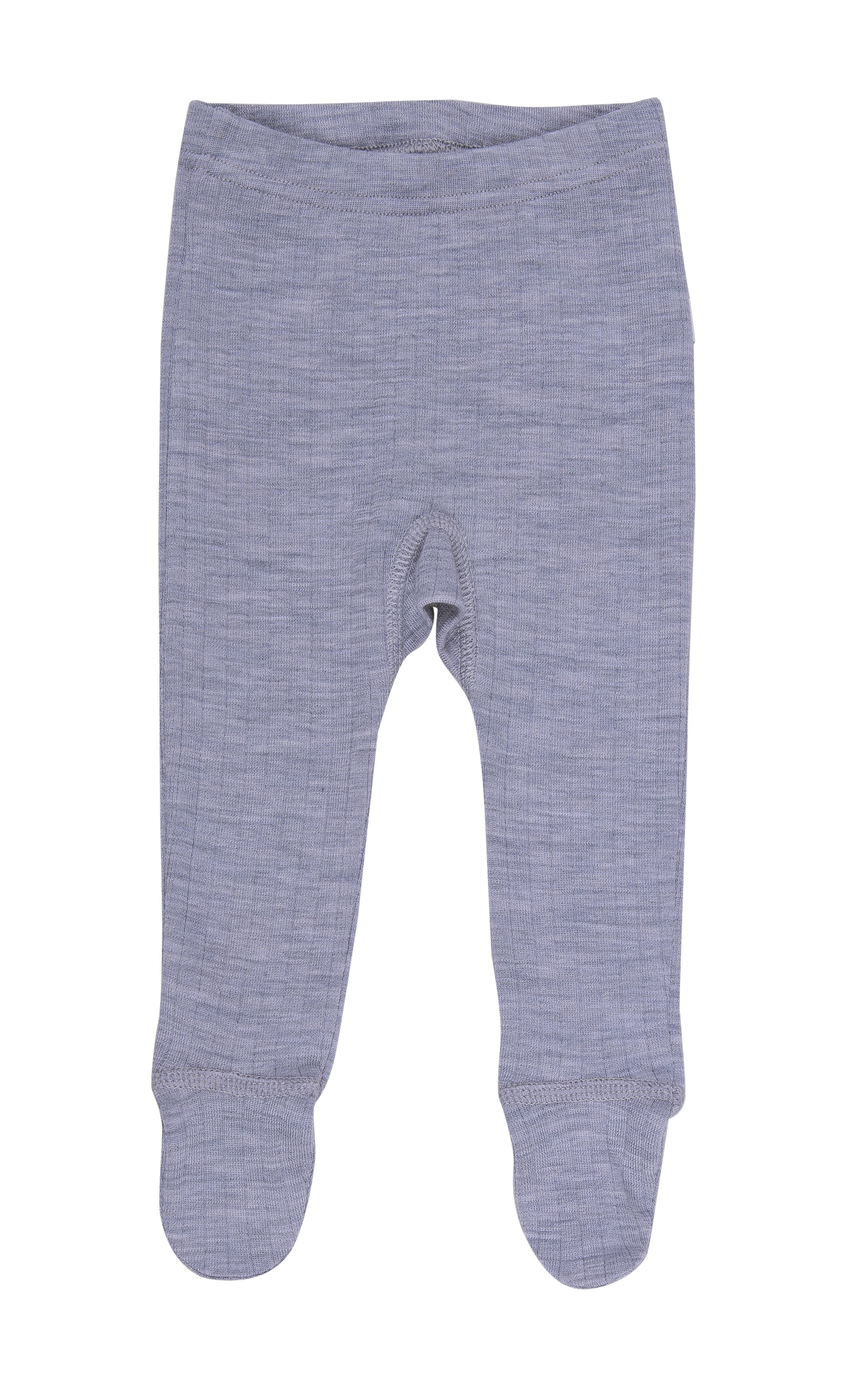 Image of   Leggings m. fod fra Joha - Uld - Grey melange