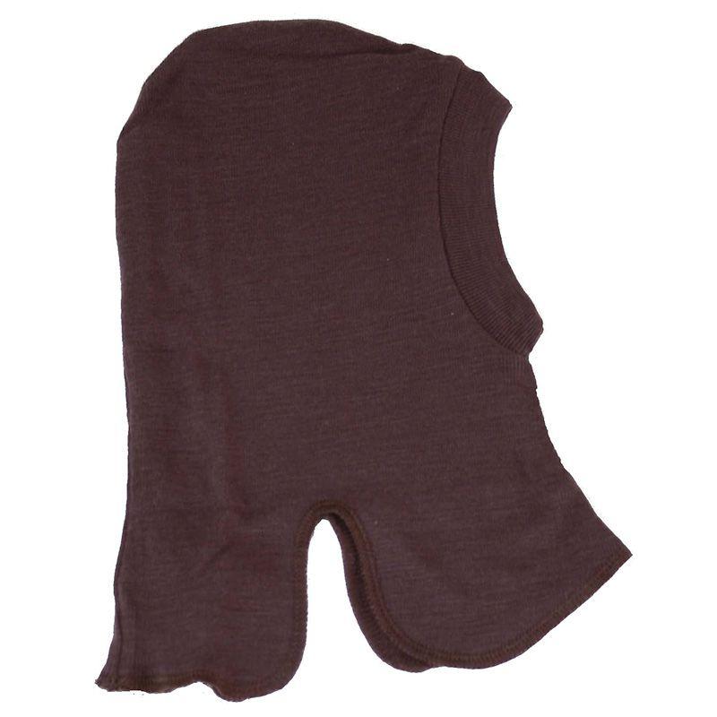 Elefanthue i uld fra Celavi - Dobbeltlag - Warm Brown