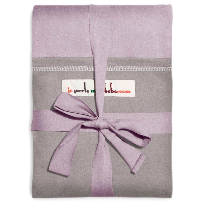 Image of   Stræk vikle fra Je Porte Mon Bébe - Original - Lavendel m. grå