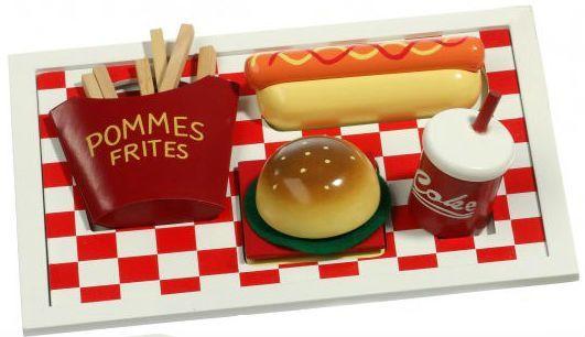 Image of   Legemad på bakke fra Magni - Burger menu
