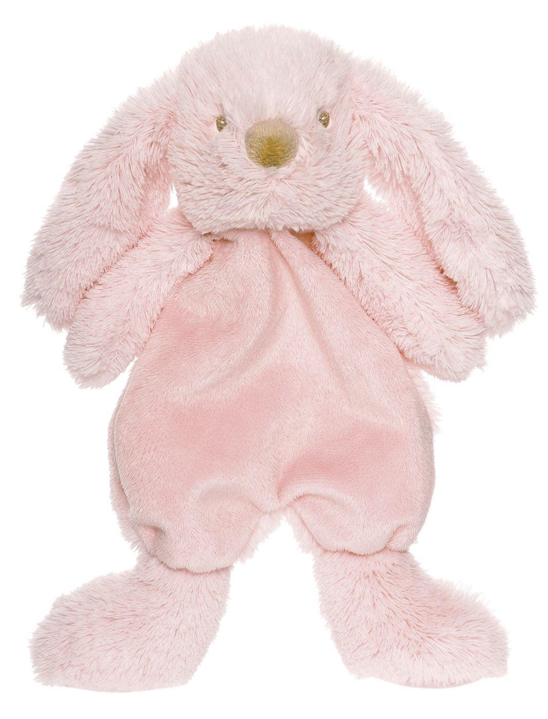 Nusseklud fra teddykompaniet - lolly bunny - rosa fra Teddykompaniet på babygear.dk