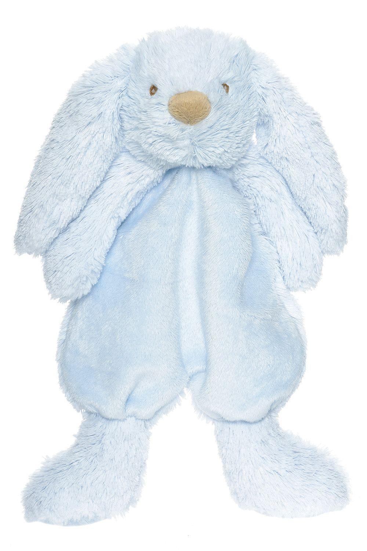 Teddykompaniet – Nusseklud fra teddykompaniet - lolly bunny - blå fra babygear.dk