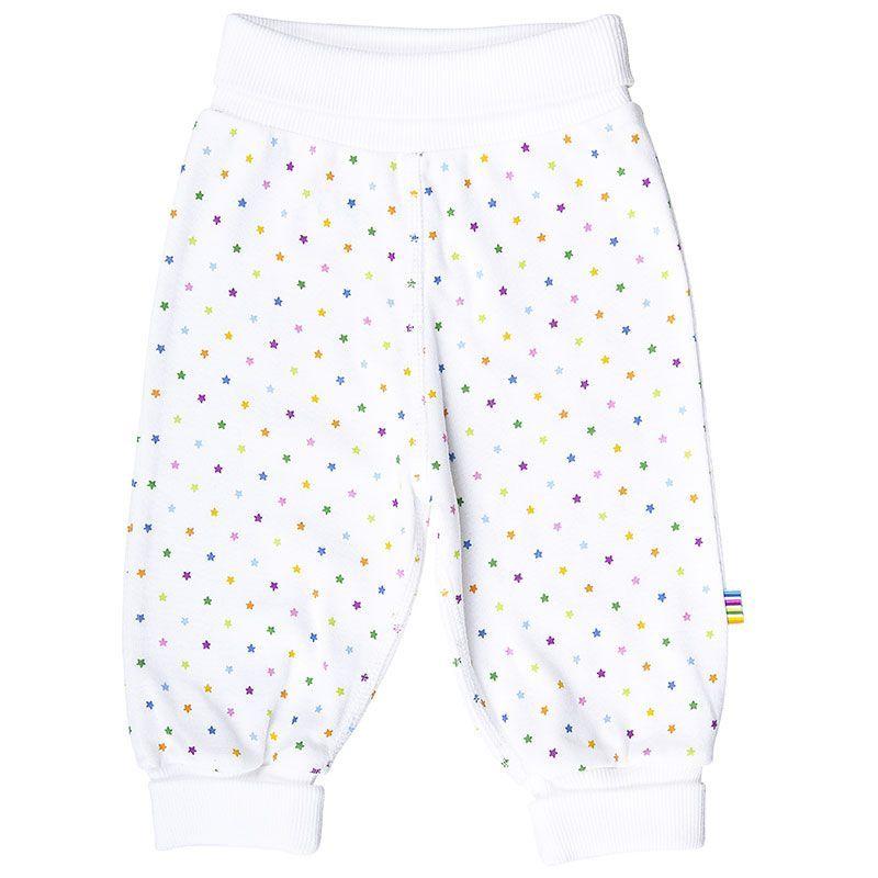 Image of   Sweat Pants fra Joha - Hvid m. multi-stjerner