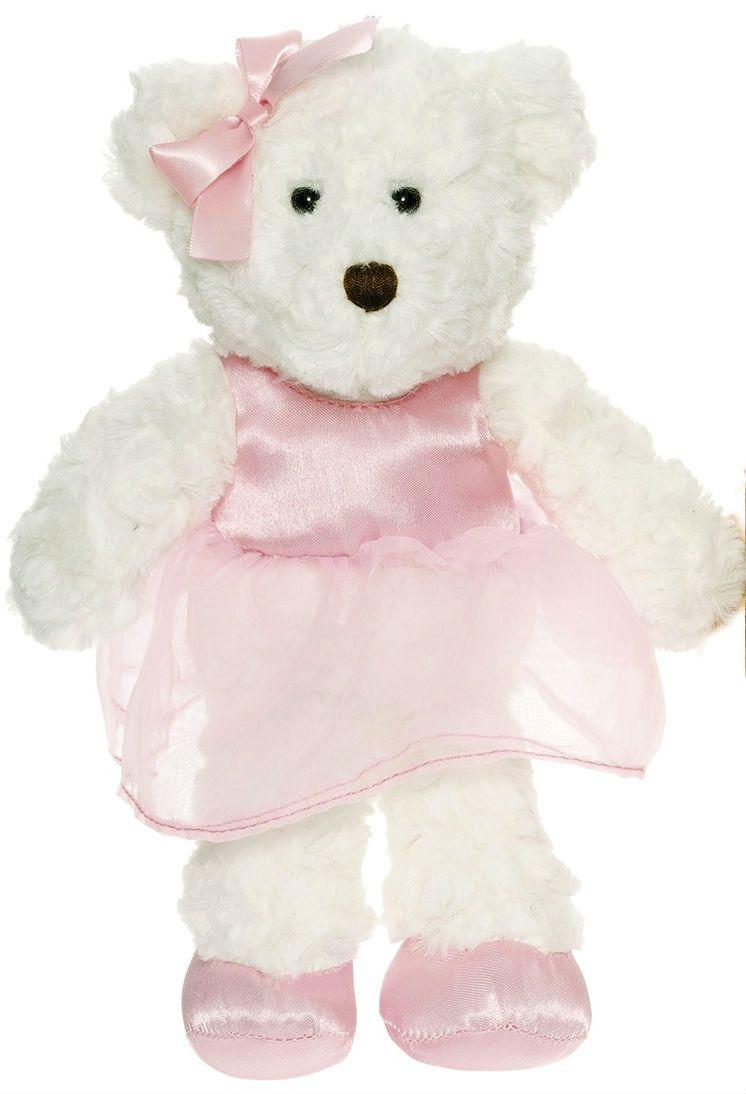 Image of Bamse fra Teddykompaniet - Frida - Hvid (28 cm) (2570_hvid)