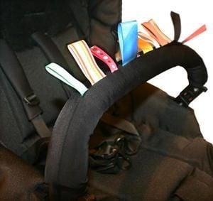 Image of   Beskyttelse til klapvogn stangen - Bumper Bar Protection - fra AddBaby